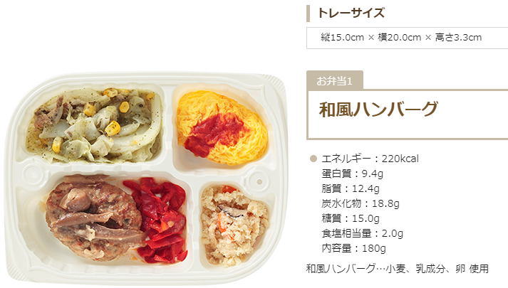 宅配弁当ヨシケイ夕食ネットの種類