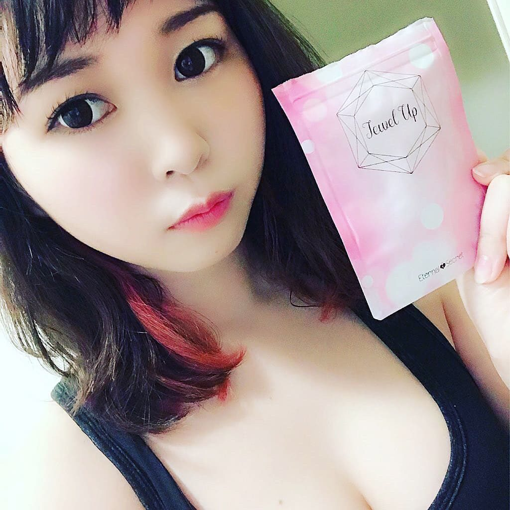 ジュエルアップ効果的な飲み方♡バストを貧乳から巨乳にする方法